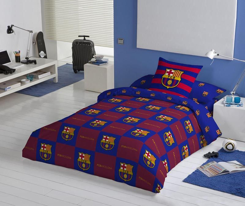 Funda n rdica fcbarcelona futfn18 f tbol club barcelona ropa de cama pinterest fundas - Funda nordica barcelona ...