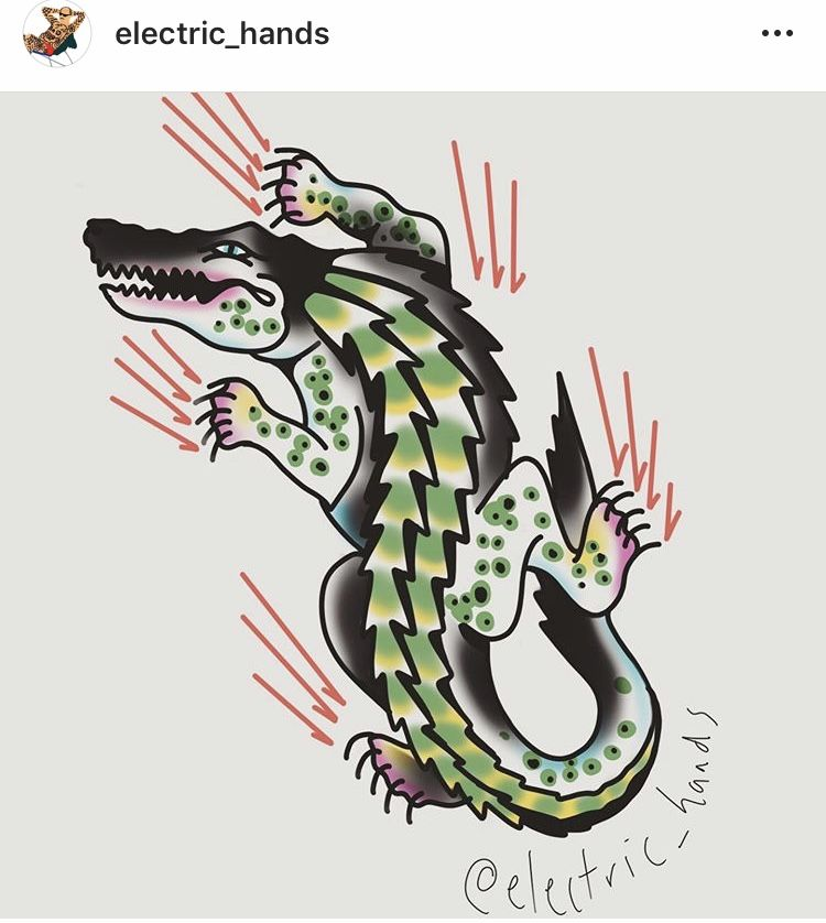 Gator tattoo nc tattoo team logo tattoos