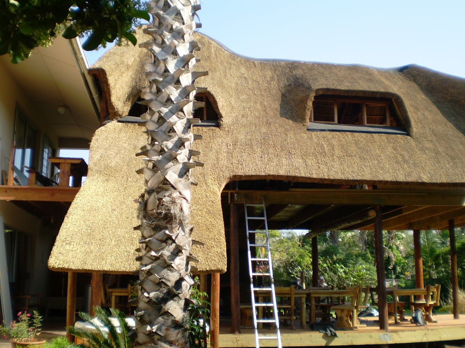 Thatch Of The Day Thatch Lapa Braai Outdoor Entertainment Area Designs Outdoor Entertaining Area Entertaining Area Outdoor Entertaining