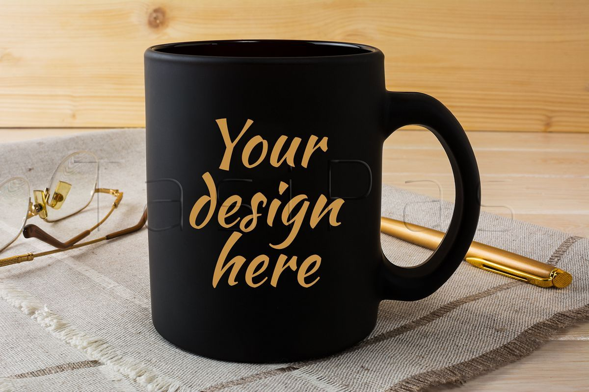 #13 magic mockups mockup templates on magic mockups. Black Coffee Mug Mockup With Glasses And Pen 59994 Mockups Design Bundles Design Mockup Free Free Psd Mockups Templates Black Coffee Mug