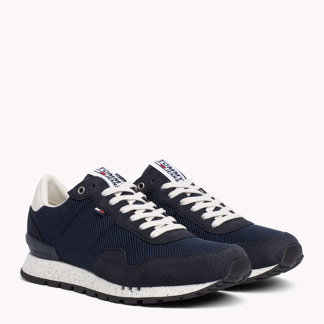 TOMMY JEANS Panelled Mesh Trainers