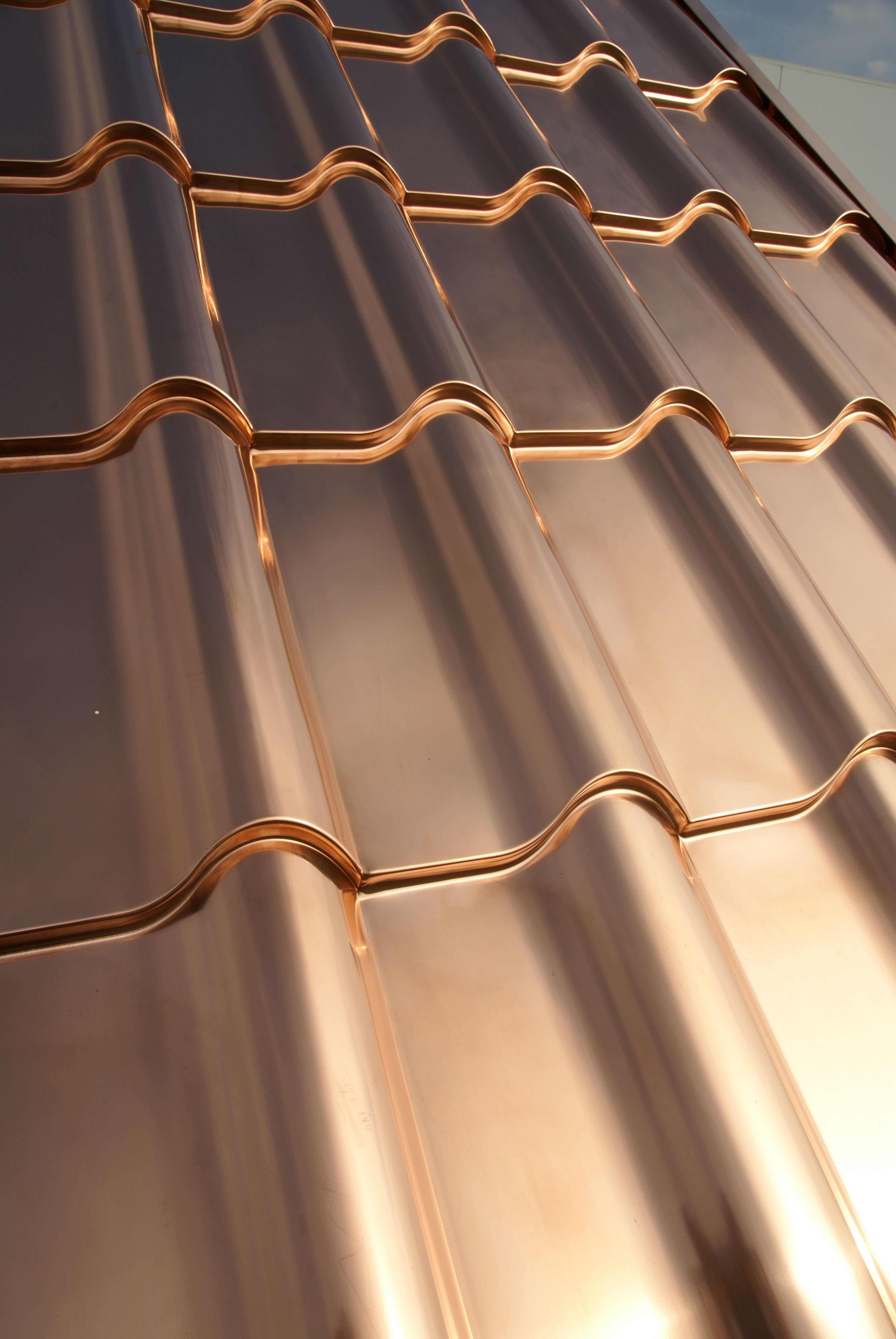Solid Copper Roofing Copper Roof Copper Roof House Metal Roof