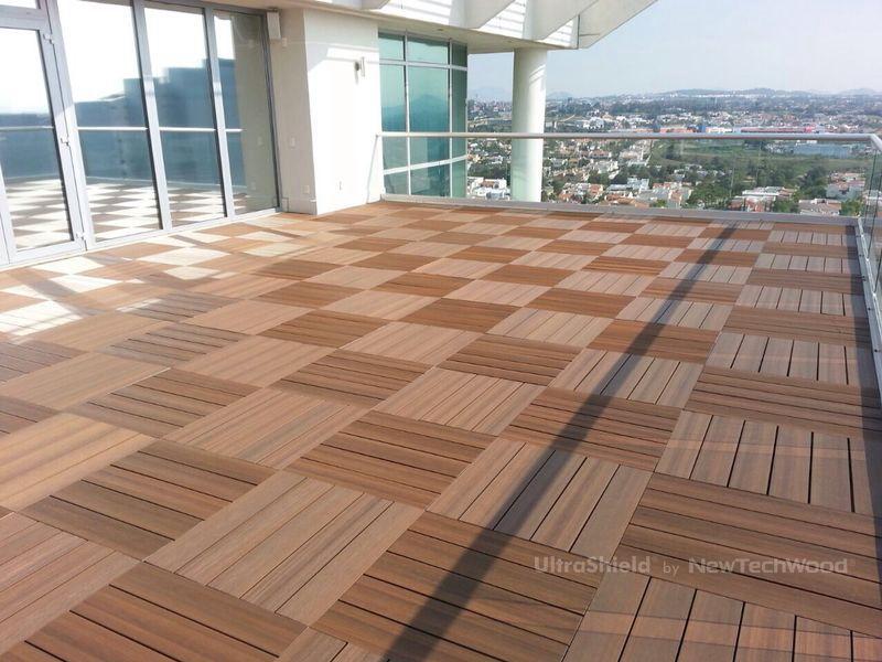 Unique Balcony Flooring Material
