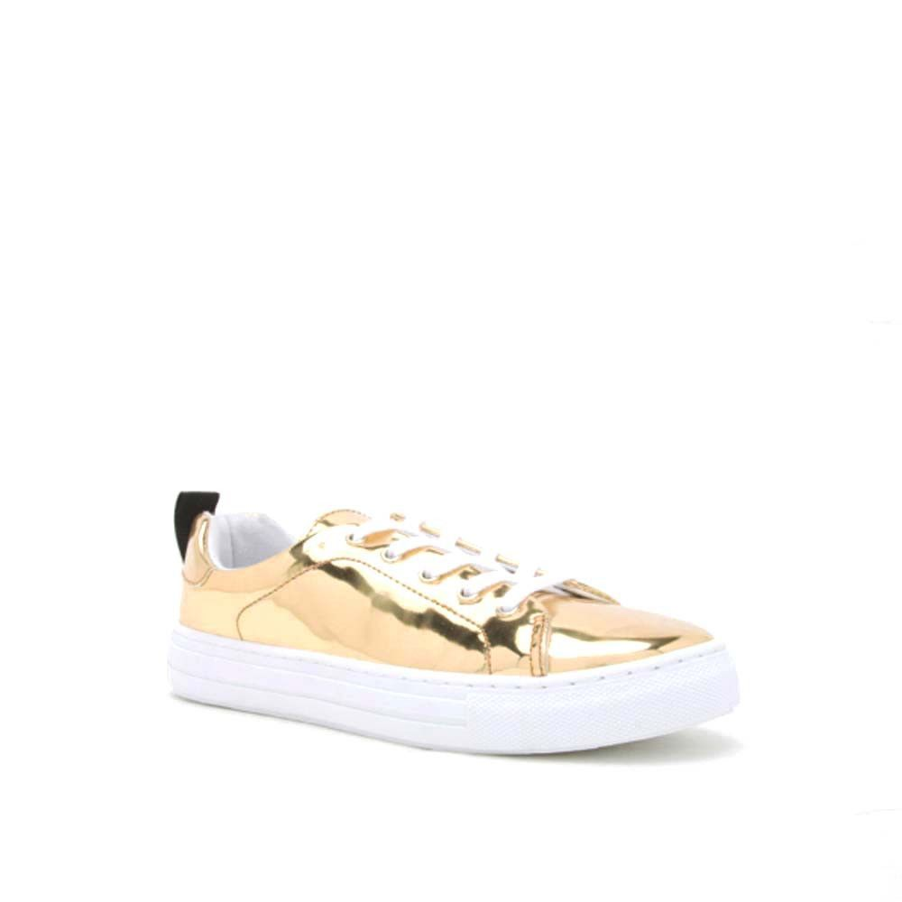 Love and Peace Sneaker (REBA-61B Gold Shiny Met)