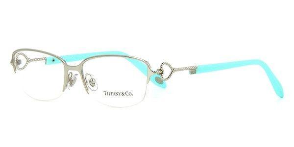 558a67921b2 New Authentic TF1106 6037 Tiffany   Co. Semi-Rimless Eyeglass Frame Silver  54mm - Eyeglass Frames