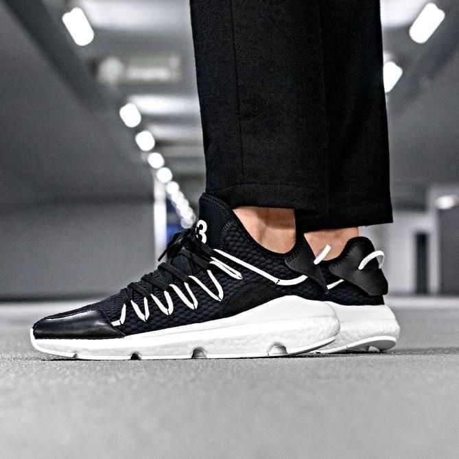 4cdb01243925e5 Adidas Y-3 Kusari Sneakers Black Size 5-12 Mens Shoes boost new nmd ultra  eqt  Adidas  AthleticSneakers