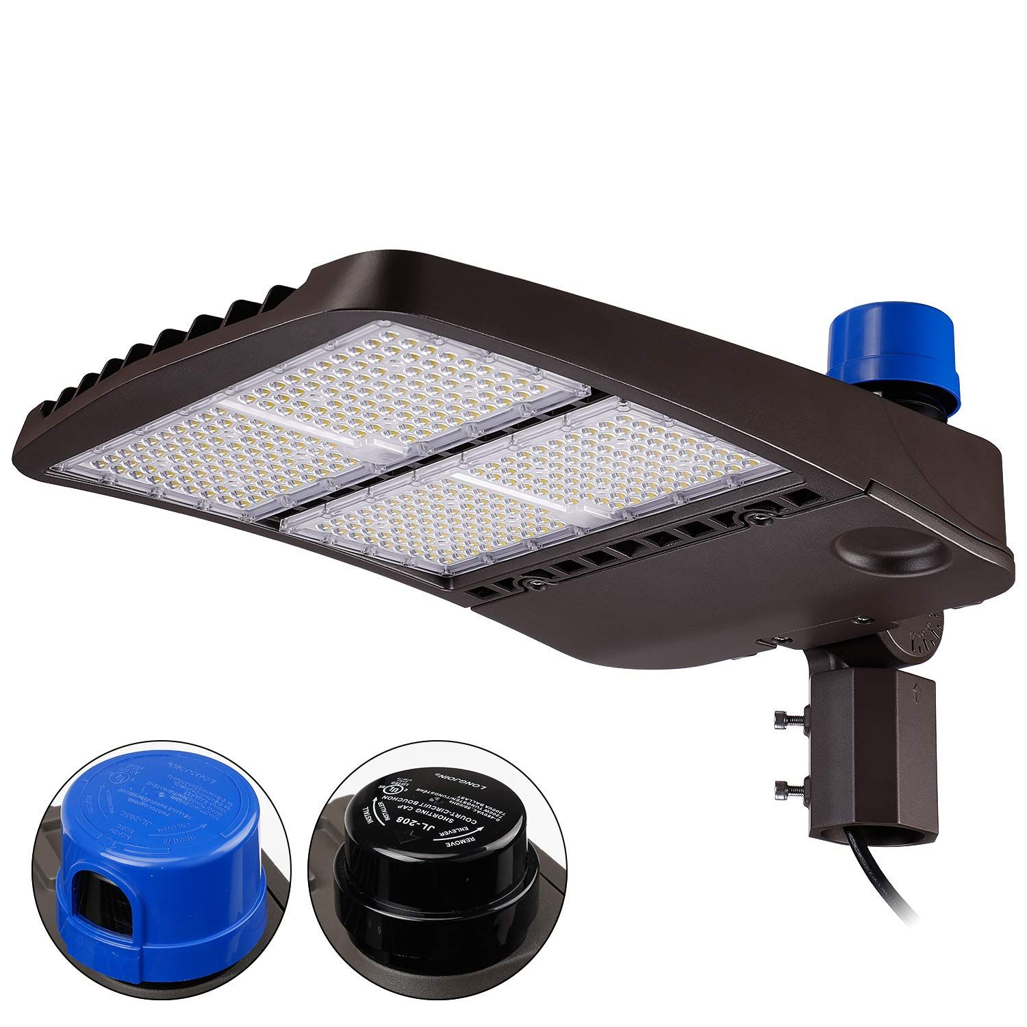 Leonlite 300w Ultra Bright Led Parking Lot Light With Photocell 39 000lm Ip65 Waterproof S Led Parking Lot Lights Diy Outdoor Lighting Outdoor Lighting Design