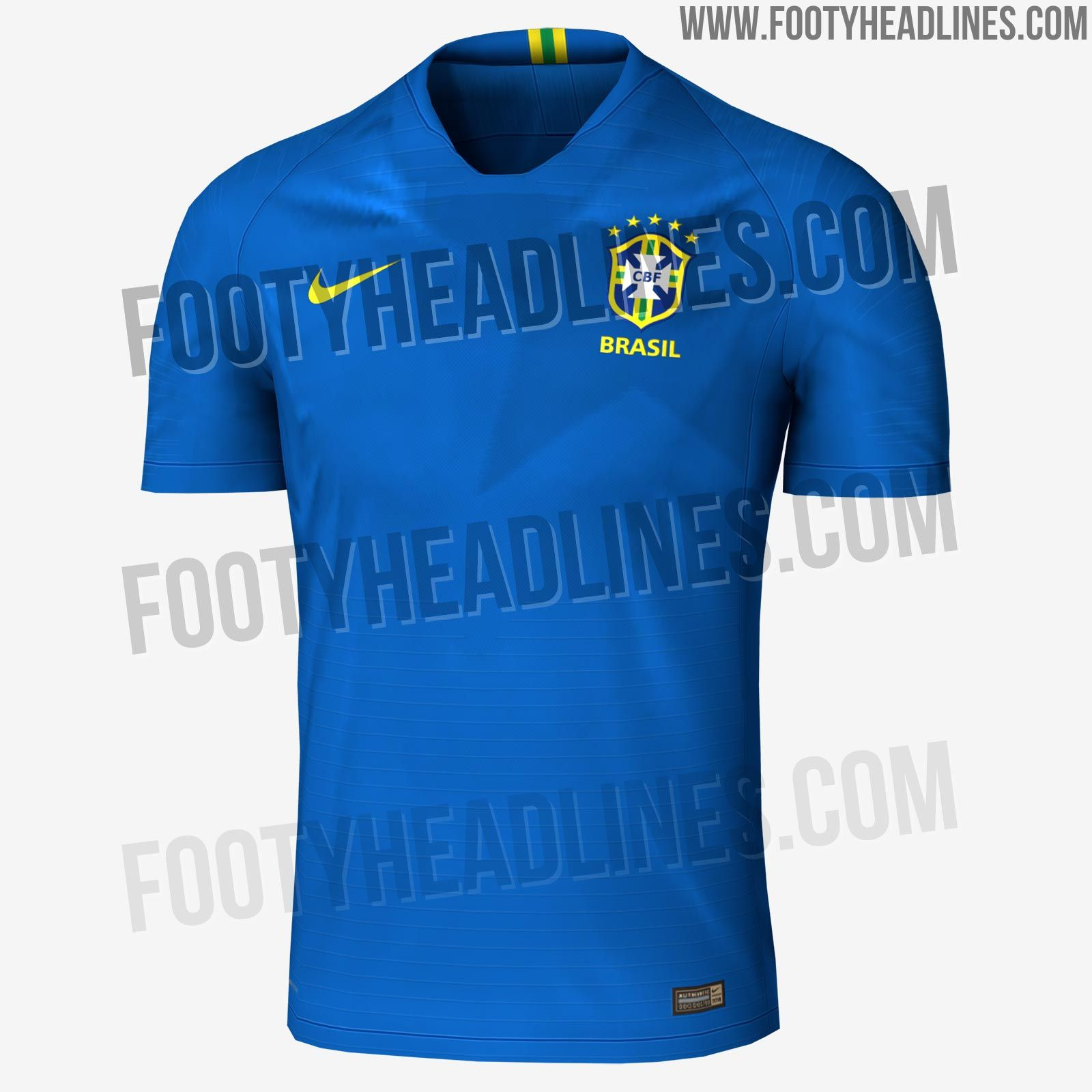 42692ba4bd6 The New Nike Brazil 2018 World Cup Away Kit Features A Bright Look