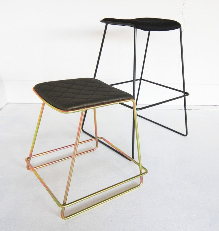 As Seen In Shay Dean S Kitchen In Blocktagon The Flynn Stool Is This Custom Made Designer Stool The Beauty Of This Stool Is That It Is Fine And