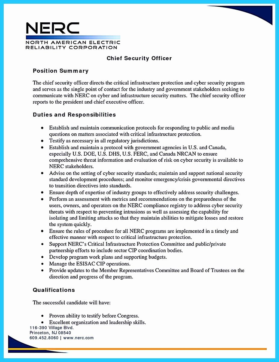 Cyber Security Entry Level Resume Fresh Powerful Cyber Security Resume To Get Hired Right Away