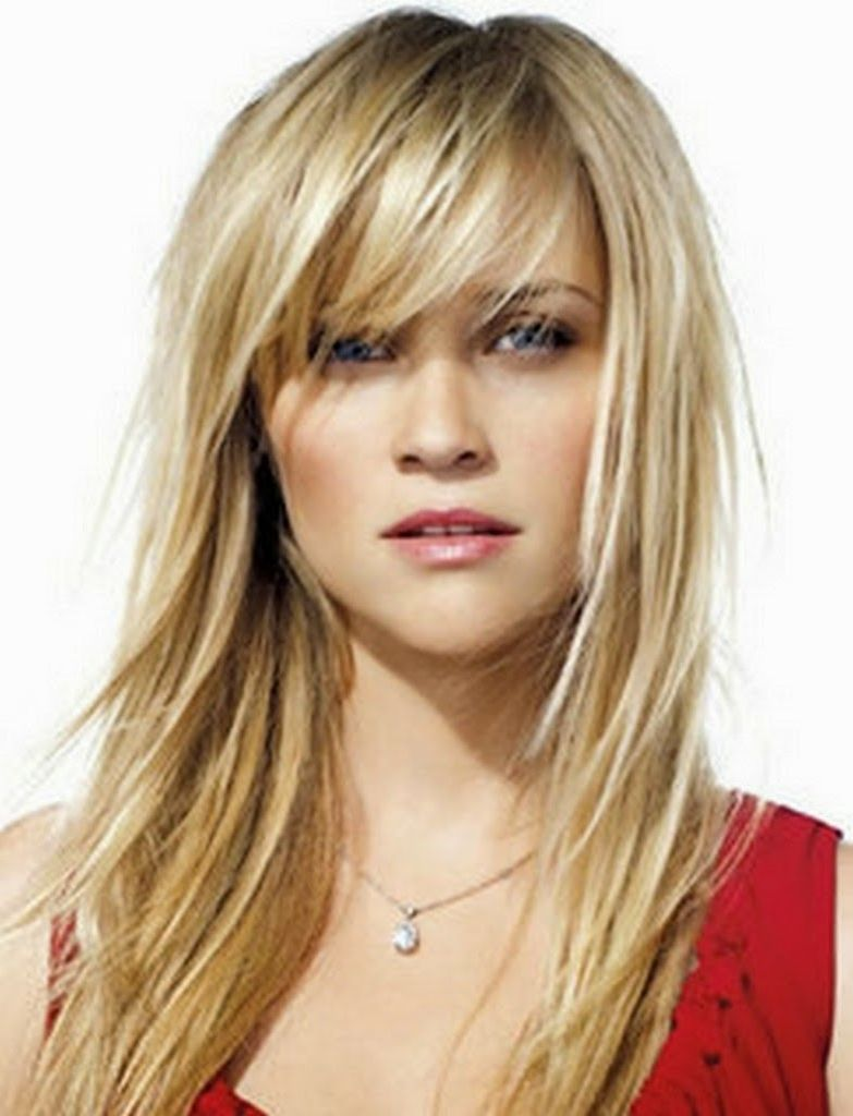 "Long Hairstyles With Bangs 5 Photos Of The ""long Layered Razor Cut Hairstyles""  My Style"