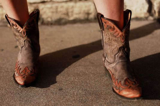 also must have a cute pair of cowboy boots
