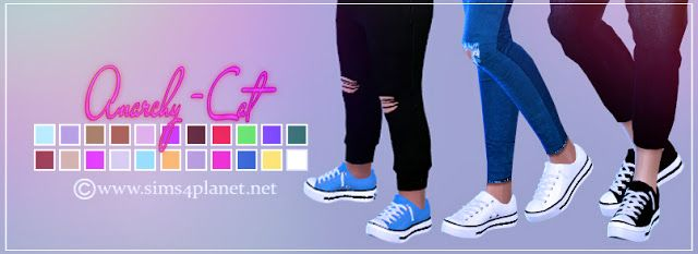 Semller Low Top conversion at Anarchy-Cat • Sims 4 Updates