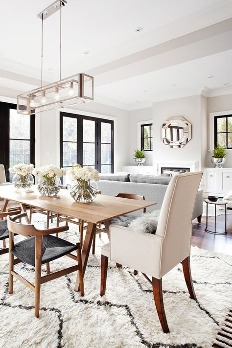 5 Ways To Make Your Dining Room Look More Expensive The Chriselle Factor Dining Room Combo Living Room Dining Room Combo Dining Room Small