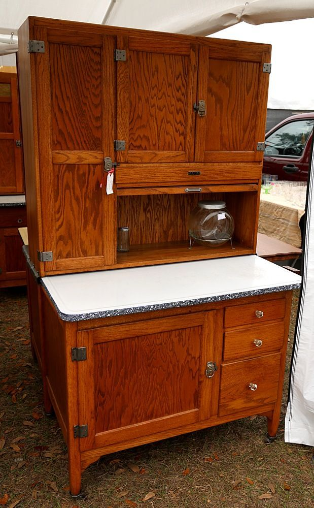 Image result for Antique Bakers Cabinet with Flour Bin - Image Result For Antique Bakers Cabinet With Flour Bin Antiques In