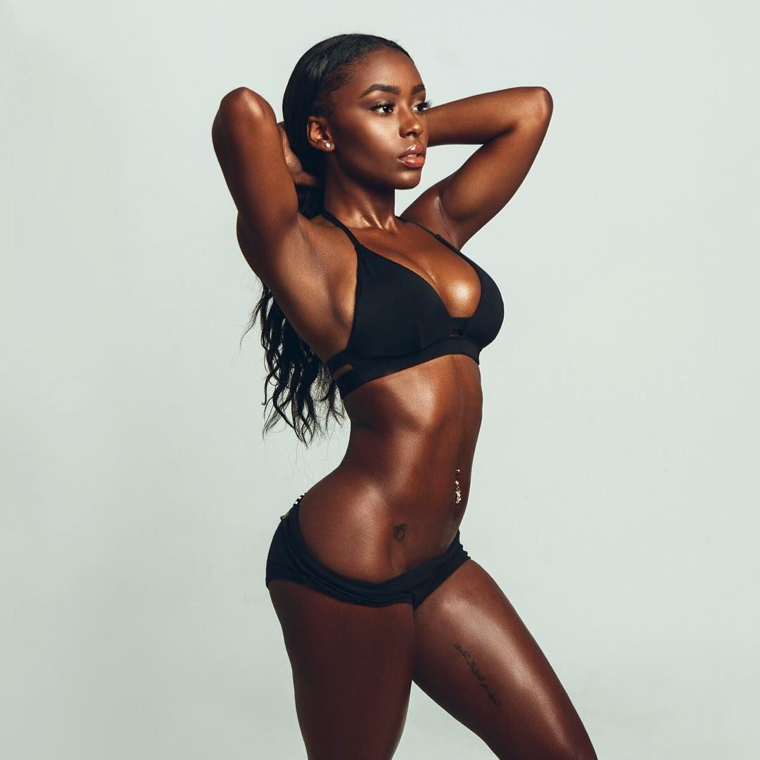 Ebony girl fights — 14