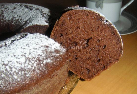كيكة عادية بالشكولاطة لكن بطريقة مختلفة بالصور Food Breakfast Muffin