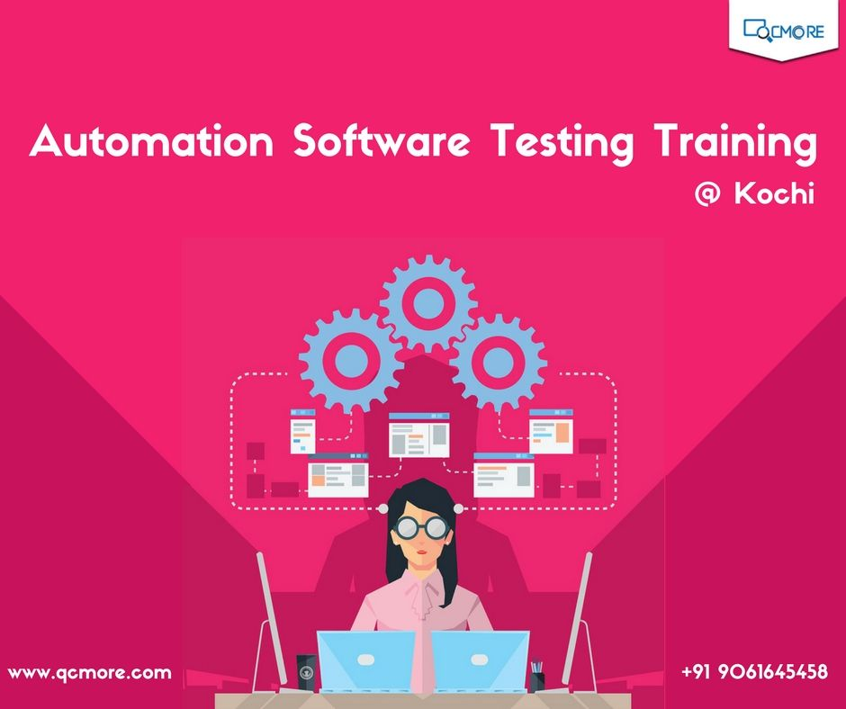 Learn automation software testing from QC More, a leading Software Testing Training Institute in Kochi. Explore the opportunity to work on live projects and enjoy 100% placement assistance. www.qcmore.com