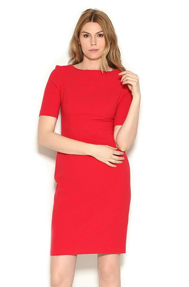 kleid rot orsay online shop feminine mode und accessoires f r anspruchsvolle frauen. Black Bedroom Furniture Sets. Home Design Ideas