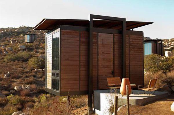 Des mini-maisons au coeur d\u0027un site sauvage - ▷ CABANES, ABRIS DE
