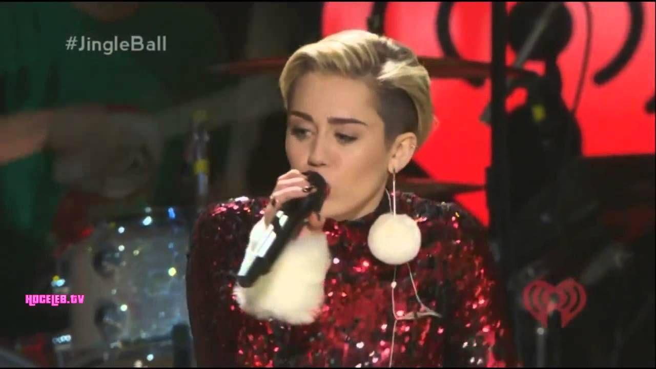 Miley Cyrus - #GETITRIGHT - Jingle Ball Madison Square Garden (HD)