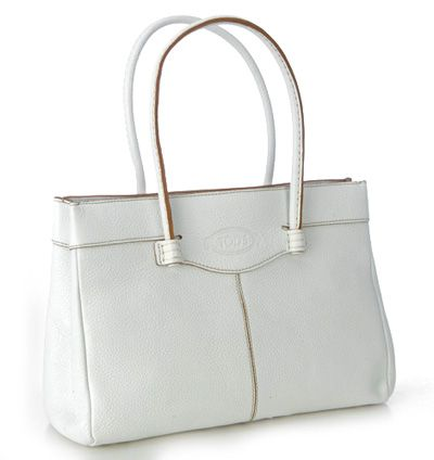 Tods Mocassino Tote-Large White   Fashion Bags and Purses   Pinterest a5d246f315b