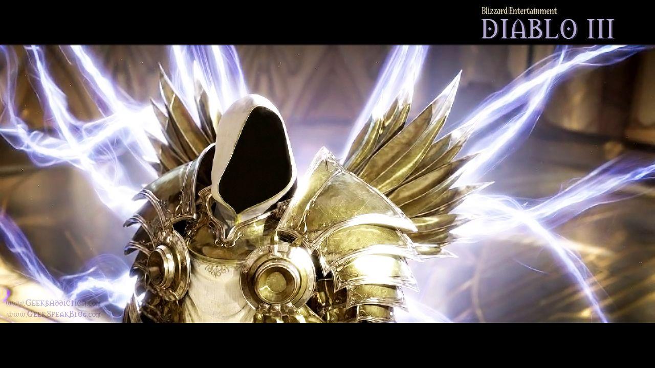 GeeksAddiction Diablo 3 The Angel Tyrael Wallpaper Based On Blizzard Entertainment Video Game Gaming Gamers Geeks