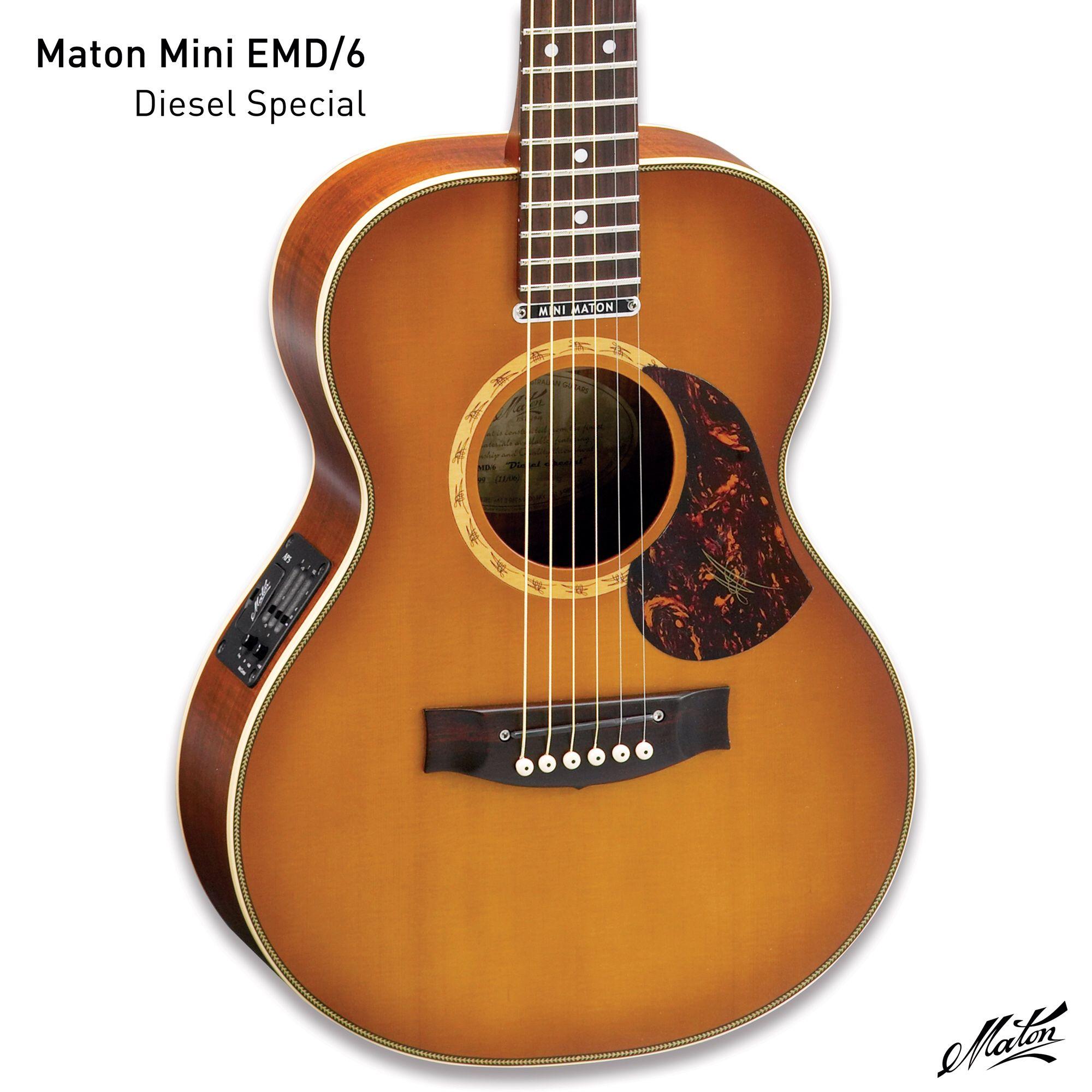 Mini Maton Emd6 Music Gear Guitar Acoustic