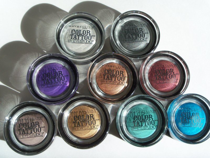 High End Quality For A Low End Price Maybelline S Color Tattoo Review Maybelline Color Tattoo Gel Eyeshadow Maybelline Tattoo