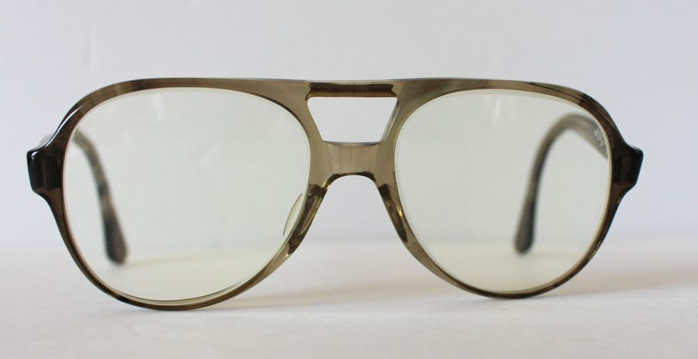 ae96ed2c207 Vintage Titmus Safety Glasses Eyeglasses Z87 Aviator Frames 56-18 5 3 4   Titmus  Aviator