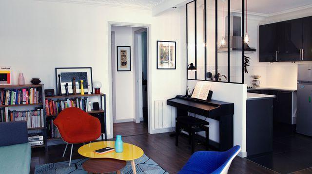 Aménager une petite surface de 46m2 | Deco | Living room inspiration ...