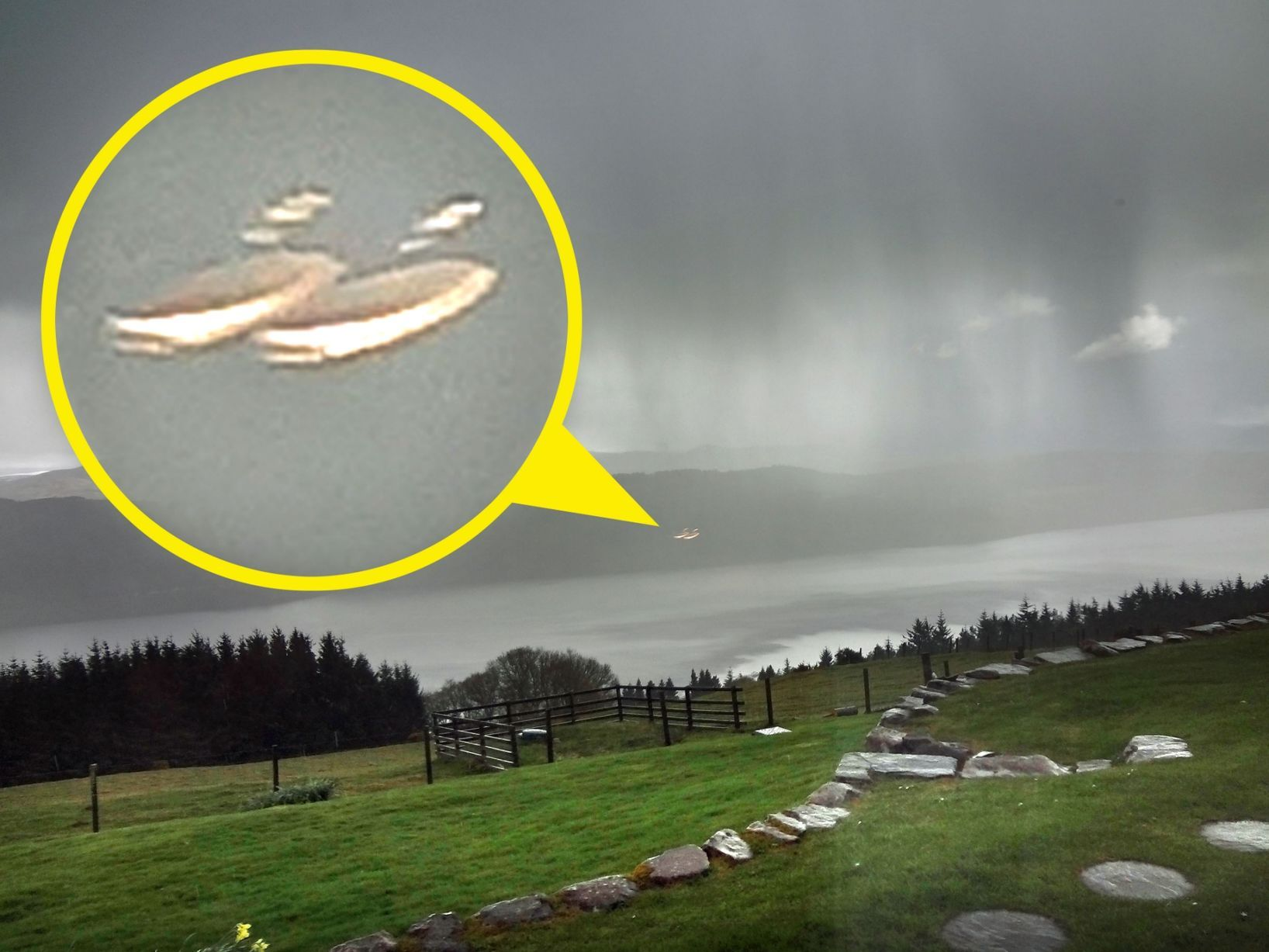 Photo of This UFO picture at Loch Ness will send conspiracy nuts into overdrive