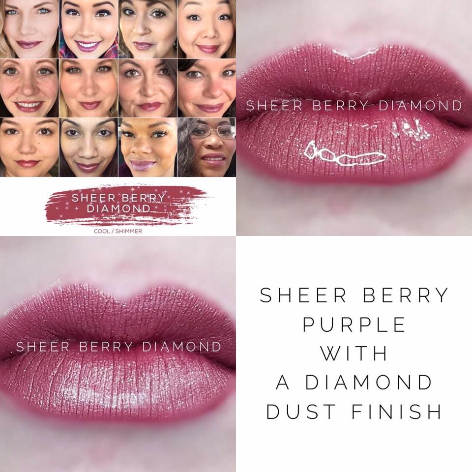 Limited Edition Sheer Berry Diamond LipSense from SeneGence is back for a limited time only just in time for the holidays! These include finely crushed, genuine diamond gemstones for a beautiful sparkle. www.lastinglipsbylindsay.com or @lastinglips_by_lindsay on instagram) lipsense | glossy gloss | senegence | lipstick | lips | makeup | long lasting lipstick | smudge proof lipstick | lipsense distributor | bombshell diamond | Diamond kiss gloss | Violet Volt | caramel apple diamond