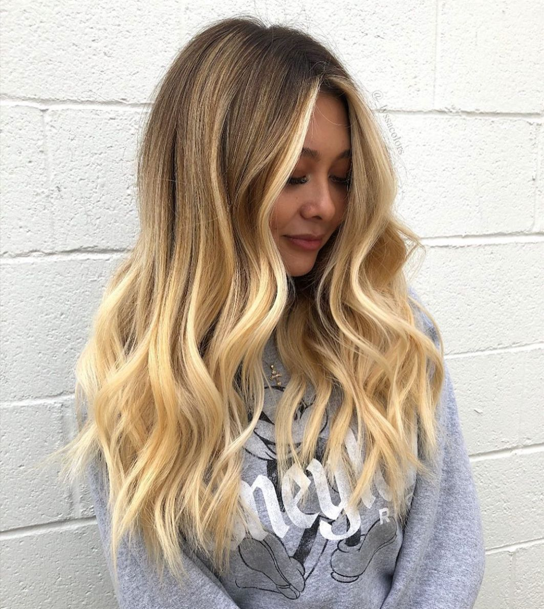 Best 18 Amazing Blonde Balayage Hair Color Ideas for 18   Hair ...