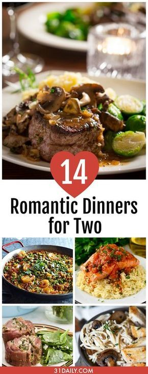 14 Romantic Dinner Recipes for Two images