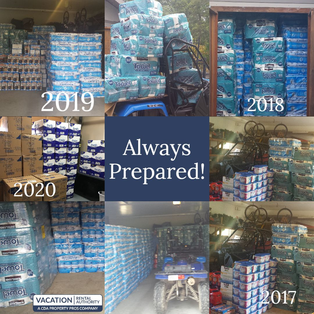 At vra we are always prepared in 2020 idaho vacation