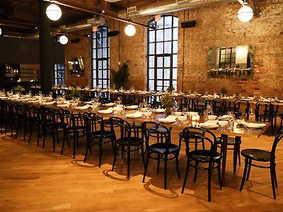Wythe Hotel Williamsburg Brooklyn NY Rehearsal Dinner Venue Wedding Reception