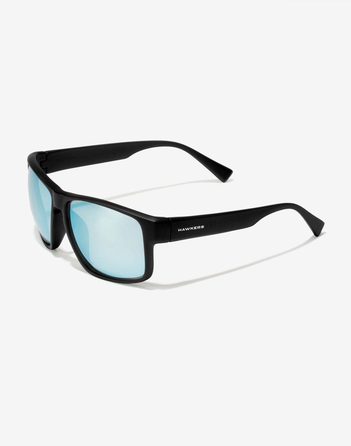 32b1e271c4 BLACK BLUE CHROME FASTER Gafas de sol Hawkers para hombre y mujer  resistentes y flexibles.