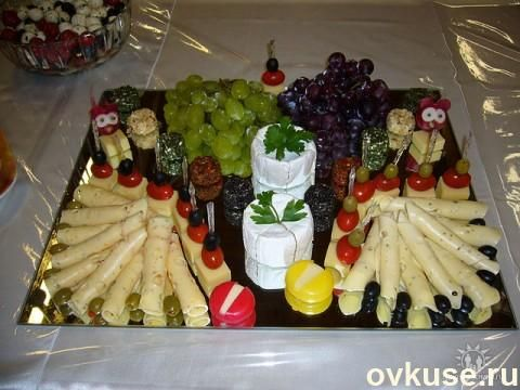 Нарезка на праздничный стол ( мясная, сырная ) (с ...