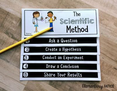 Photo of Use this Scientific Method Flip Book FREEBIE to guide your students with ANY exp