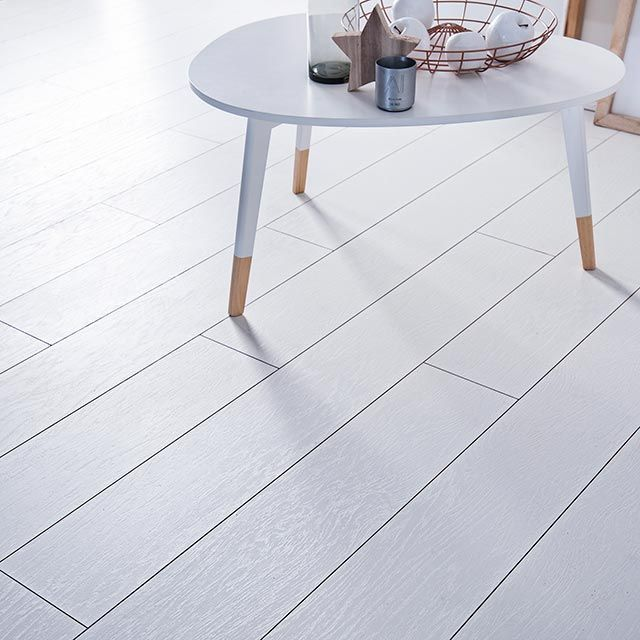 Revetement De Sol Stratifie Decor Chene Blanc Assoluto Castorama