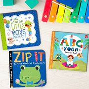 Take a look at the Board Books for Budding Bookworms event on #zulily today!