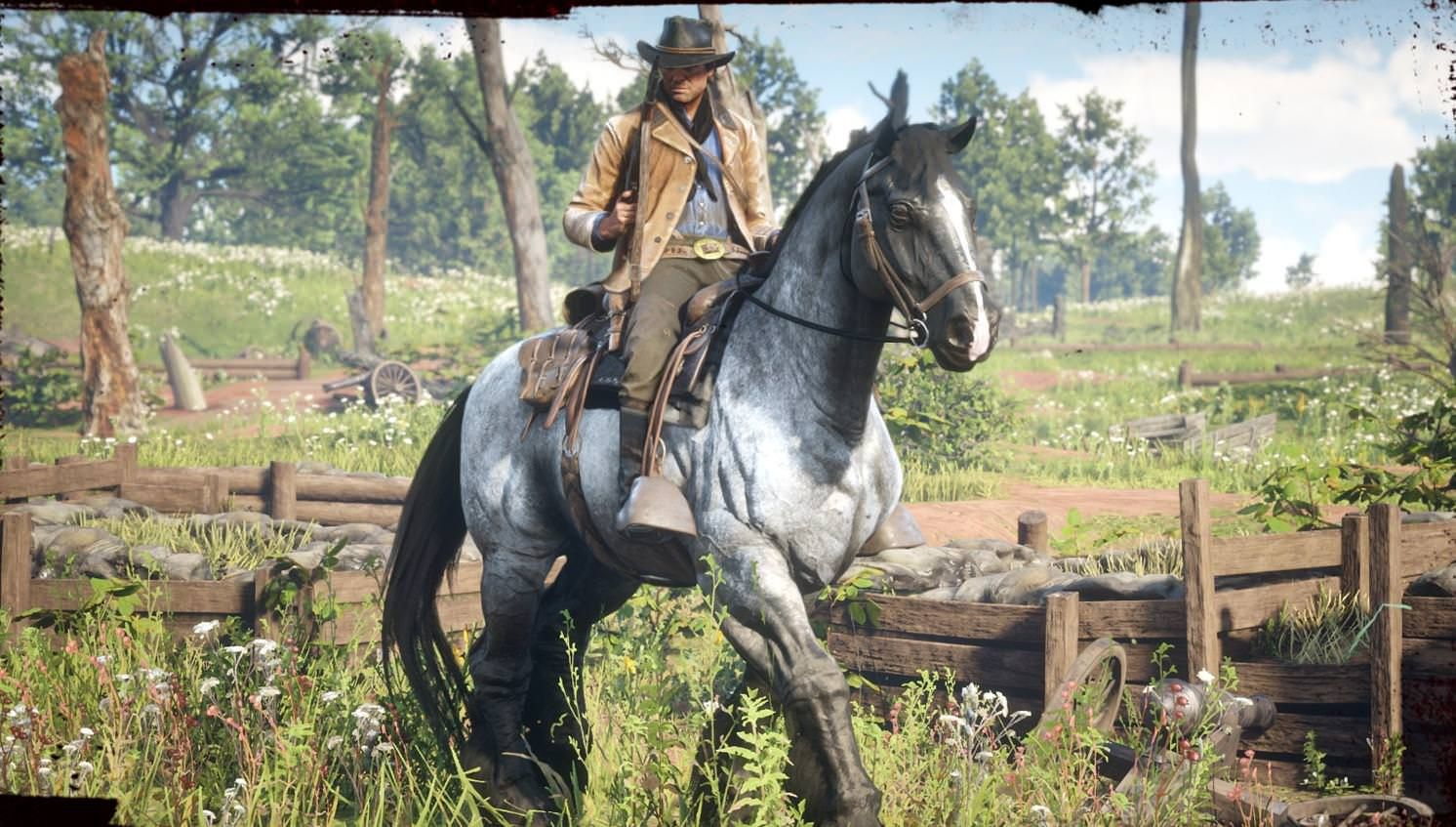 Red Dead Redemption 2 How To Get The War Horse And Other Bonus