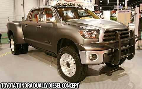 Toyota Tundra Dually Diesel Concept Other Makes Pinterest