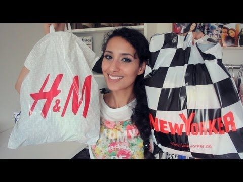 ▶ SOMMER Fashion HAUL: HM, New Yorker  mehr! #4 - YouTube