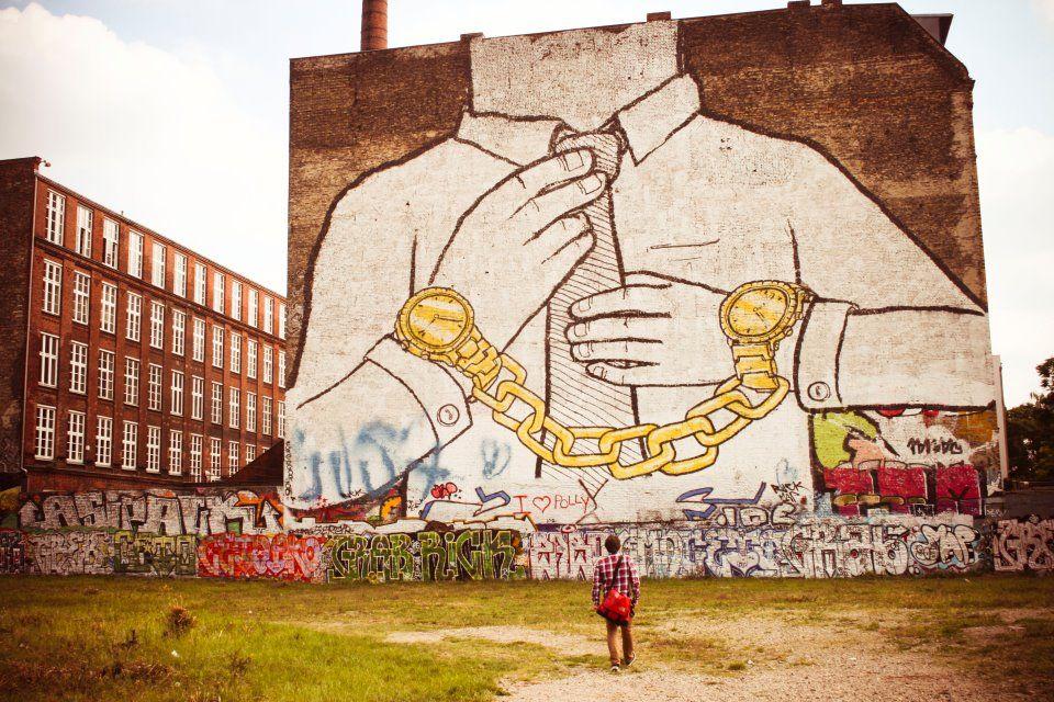 Street Art by BLU in Berlin Schlesisches Tor // Kreuzberg/F-Hain
