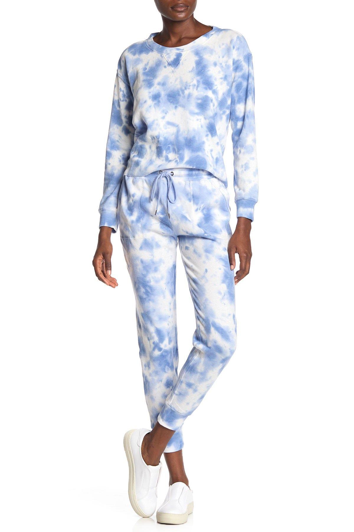 Splendid Jogger Pants Hautelook Tie Dye Outfits Tie Dye Fashion Pajamas Women [ 1800 x 1200 Pixel ]