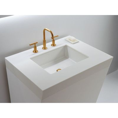 Kohler Verticyl Rectangular Undermount Bathroom Sink