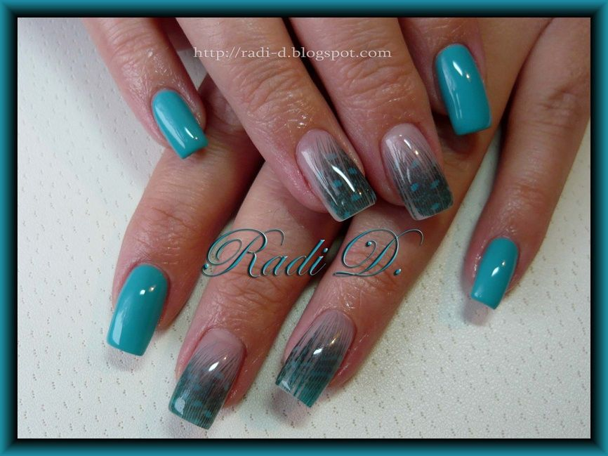 Real Feathers - Nail Art Gallery | Feather nail art, Toe ...