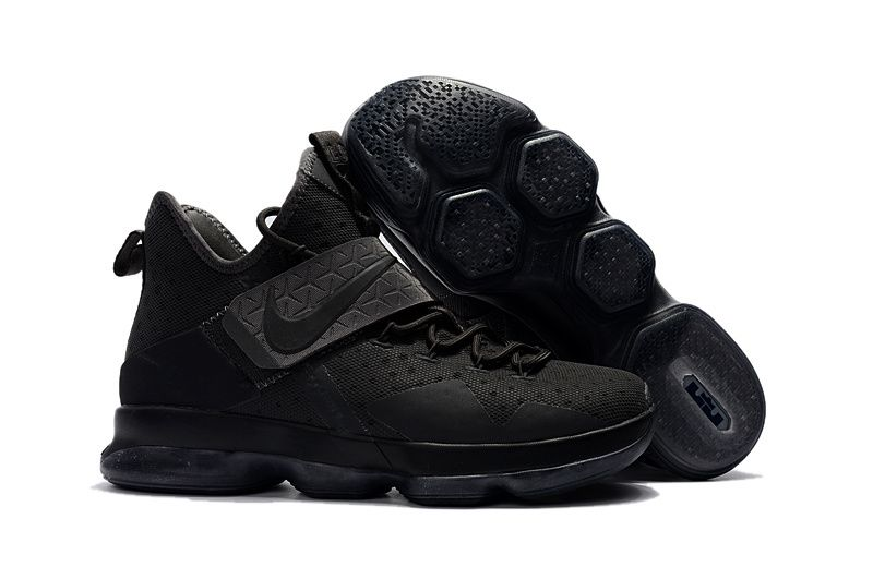timeless design 3cd00 d0ad4 Cheap Nike LeBron 14 All Cool Grey Sneakers - www ...